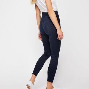 NWT Free People Seamed Pull-On Skinny Jeans